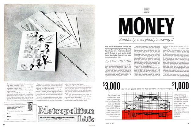 Article Preview: MONEY, August 1963 | Maclean's