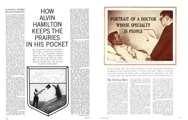 Article Preview: HOW ALVIN HAMILTON KEEPS THE PRAIRIES IN HIS POCKET, August 1963 | Maclean's