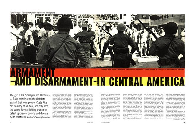 Article Preview: ARMAMENT-AND DISARMAMENTIN CENTRAL AMERICA, August 1963 | Maclean's