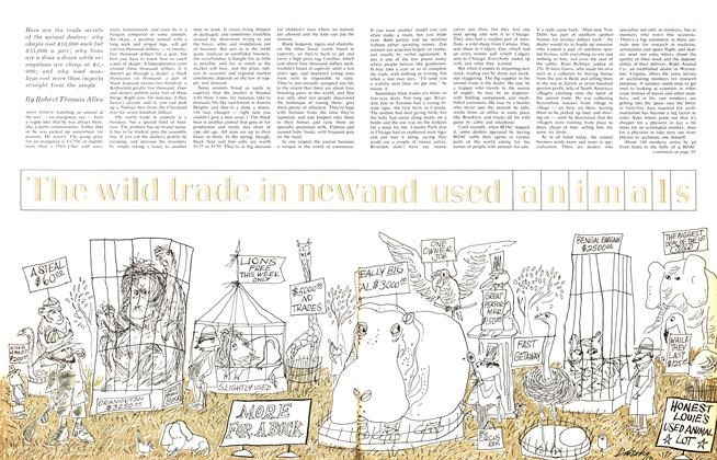 Article Preview: The wild trade in new and used animals, September 1963 | Maclean's