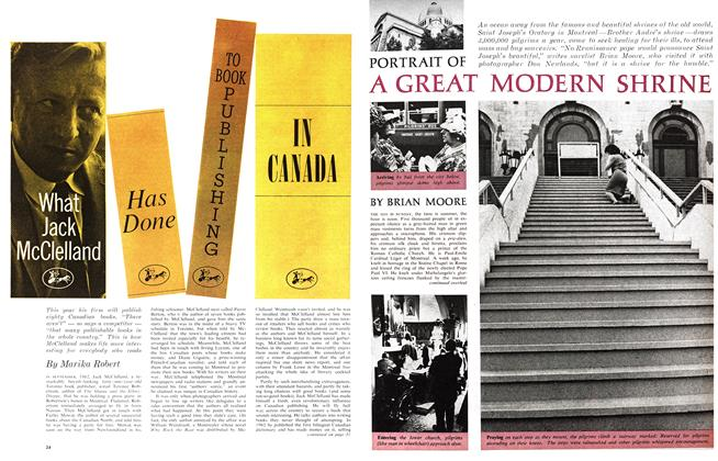 Article Preview: What Jack McClelland HAS DONE TO BOOK PUBLISHING IN CANADA, September 1963 | Maclean's
