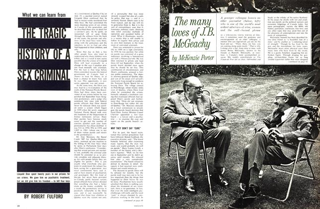 Article Preview: The many loves of J.B. McGeachy, September 1963 | Maclean's