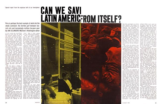 Article Preview: CAN WE SAVE LATIN AMERICA FROM ITSELF?, October 1963 | Maclean's