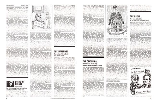 Article Preview: OVERSEAS REPORT, October 1963   Maclean's
