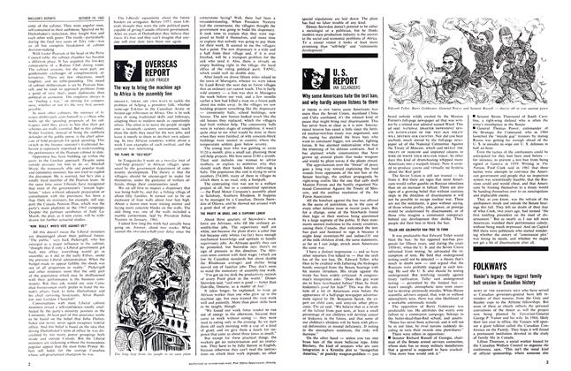 Article Preview: U. S. REPORT, October 1963 | Maclean's