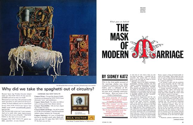 Article Preview: What goes on behind THE MASK OF MODERN ARRIAGE, October 1963 | Maclean's