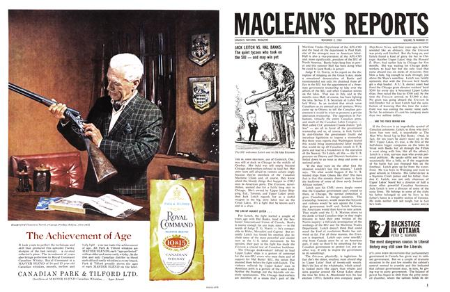 Article Preview: MACLEAN'S REPORTS, November 1963 | Maclean's