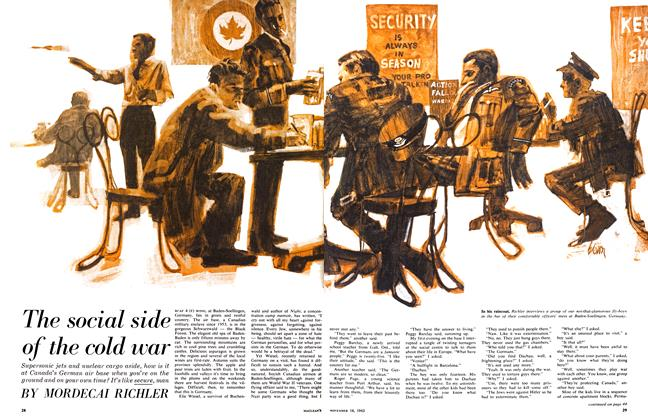 Article Preview: The social side of the cold war, November 1963 | Maclean's