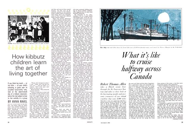 Article Preview: What it's like to cruise halfway across Canada, December 1963 | Maclean's
