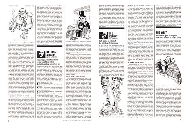 Article Preview: NATIONAL AFFAIRS, December 1963 | Maclean's