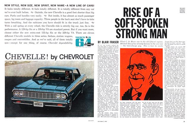 Article Preview: RISE OF A SOFT-SPOKEN STRONG MAN, December 1963 | Maclean's