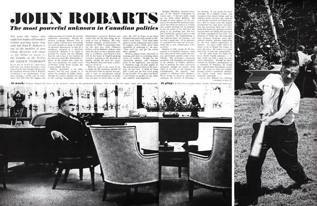Article Preview: JOHN ROBARTS, December 1963 | Maclean's