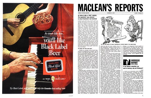 Article Preview: OVERSEAS REPORT, December 1963 | Maclean's
