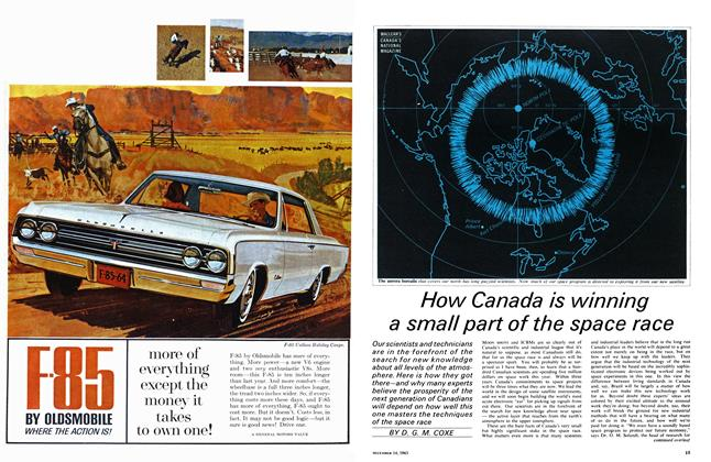 Article Preview: How Canada is winning a small part of the space race, December 1963 | Maclean's