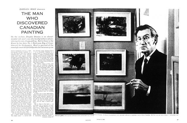 Article Preview: THE MAN WHO DISCOVERED CANADIAN PAINTING, January 1964 | Maclean's