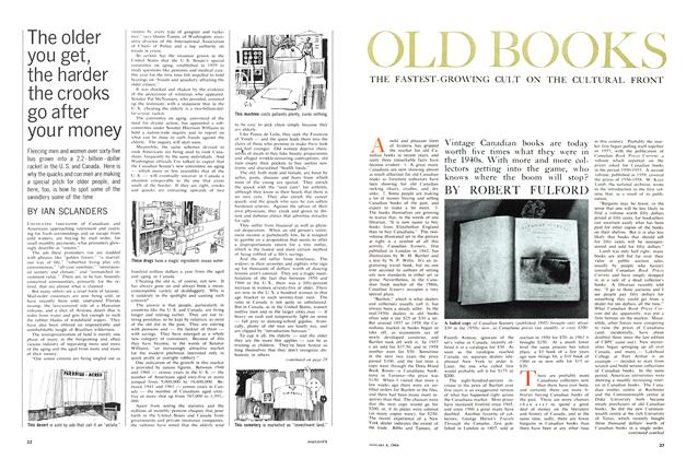 Article Preview: The older you get, the harder the crooks go after your money, January 1964 | Maclean's