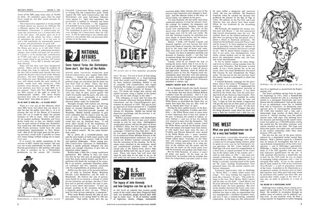 Article Preview: THE WEST, January 1964 | Maclean's