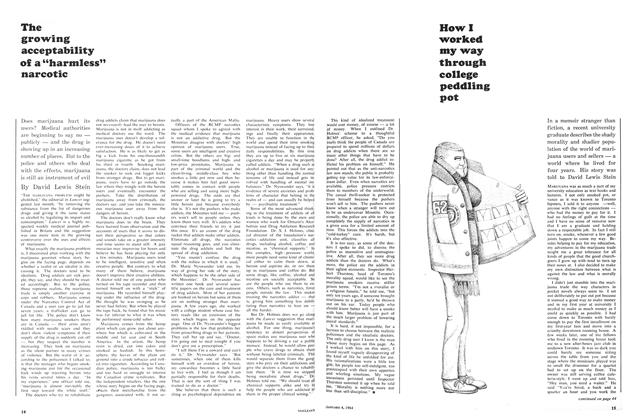 Article Preview: How I worked my way through college peddling pot, January 1964 | Maclean's