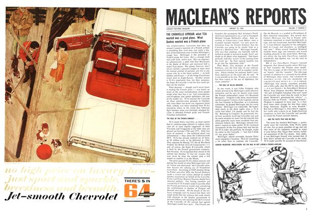 Article Preview: MACLEAN'S REPORTS, January 1964 | Maclean's