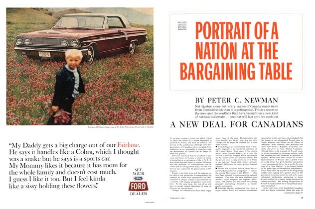 Article Preview: A NEW DEAL FOR CANADIANS, February 1964 | Maclean's