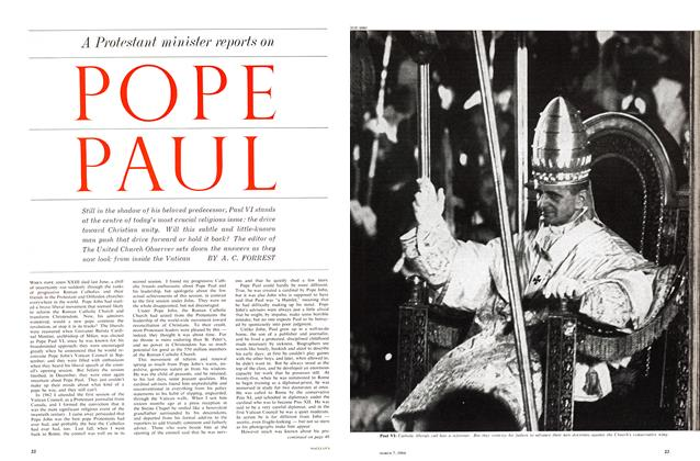 Article Preview: POPE PAUL, March 1964 | Maclean's