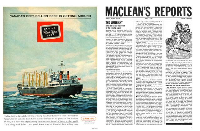 Article Preview: THE LIMELIGHT, March 1964 | Maclean's
