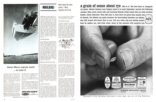 Article Preview: MAILBAG, March 1964 | Maclean's