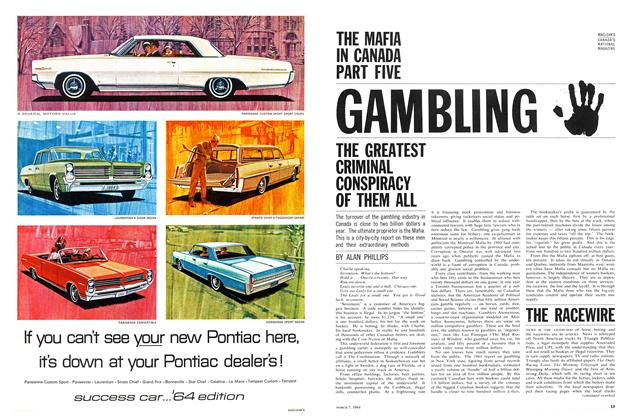 Article Preview: GAMBLING, March 1964 | Maclean's