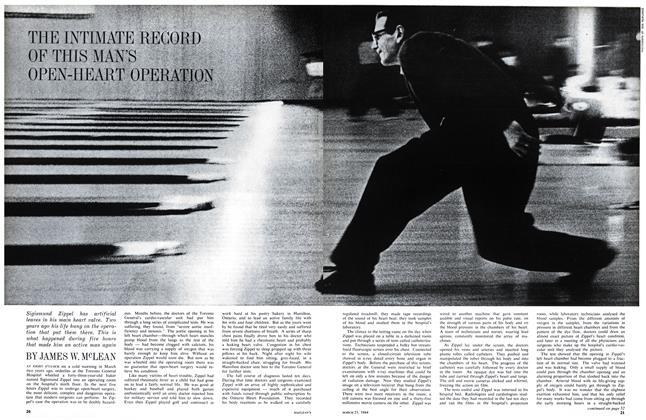 Article Preview: THE INTIMATE RECORD OF THIS MAN'S OPEN-HEART OPERATION, March 1964 | Maclean's