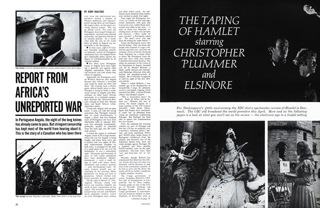 Article Preview: REPORT FROM AFRICA'S UNREPORTED WAR, March 1964 | Maclean's