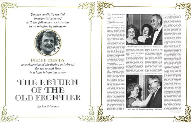 Article Preview: THE RETURN OF THE OLD FRONTIER, April 1964 | Maclean's