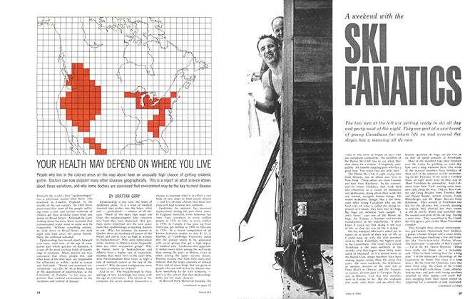 Article Preview: YOUR HEALTH MAY DEPEND ON WHERE YOU LIVE, April 1964 | Maclean's