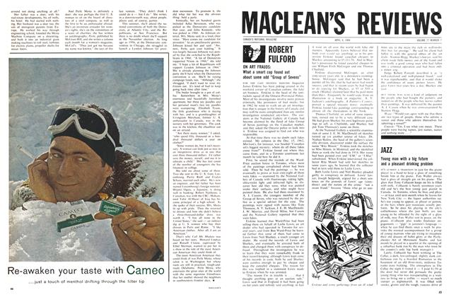 Article Preview: JAZZ, April 1964 | Maclean's