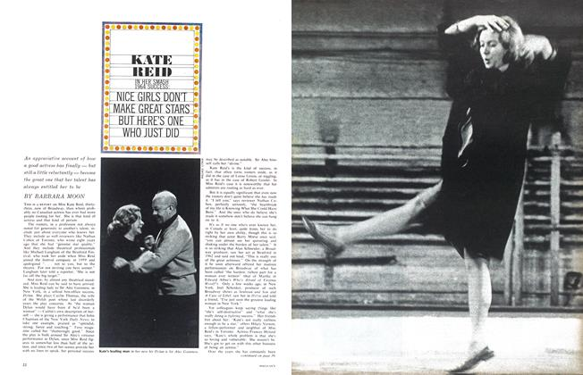 Article Preview: KATE REID IN HER SMASH 1964 SUCCESS, April 1964 | Maclean's