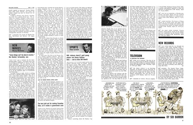 Article Preview: NHL violence doesn't spoil young players but Danny Gallivan does — and so does Bill Hewitt, May 1964 | Maclean's