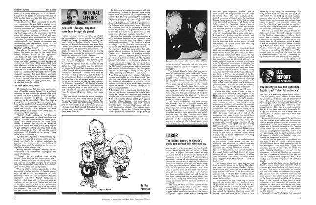 "Article Preview: Why Washington has quit applauding Brazil's latest ""blow for democracy"", May 1964 