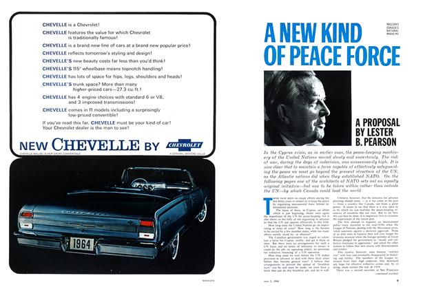 Article Preview: A NEW KIND OF PEACE FORCE, May 1964 | Maclean's