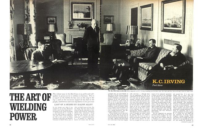 Article Preview: THE ART OF WIELDING POWER, May 1964 | Maclean's