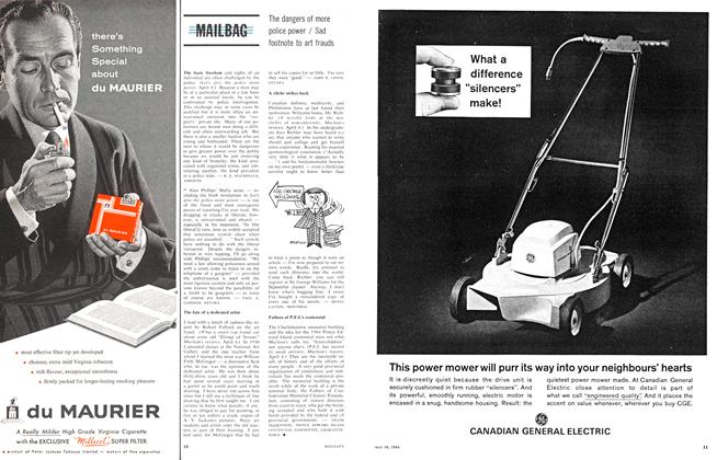 Article Preview: MAILBAG, May 1964 | Maclean's