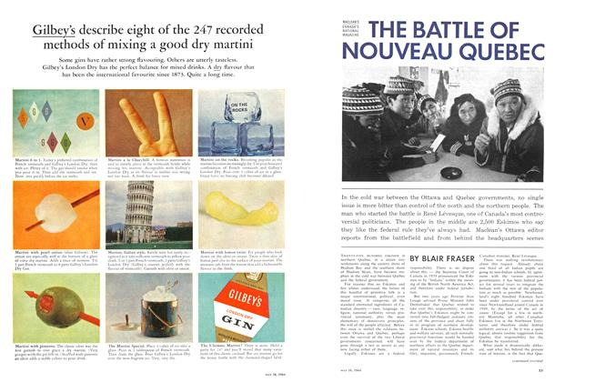 Article Preview: THE BATTLE OF NOUVEAU QUEBEC, May 1964 | Maclean's