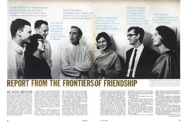 Article Preview: REPORT FROM THE FRONTIERS OF FRIENDSHIP, June 1964 | Maclean's