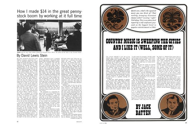 Article Preview: COUNTRY MUSIC IS SWEEPING THE CITIES AND I LIKE IT (WELL, SOME Of IT), June 1964 | Maclean's