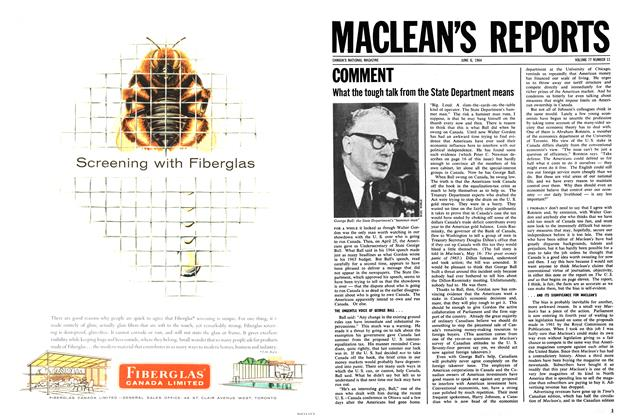 Article Preview: COMMENT, June 1964 | Maclean's