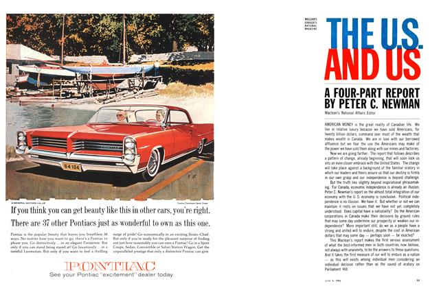 Article Preview: A FOUR-PART REPORT, June 1964 | Maclean's