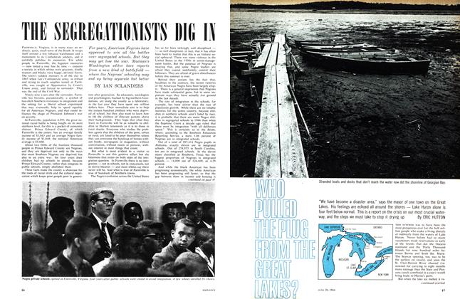Article Preview: WHO PULLED THE PLUG FROM THE GREAT LAKES?, June 1964 | Maclean's