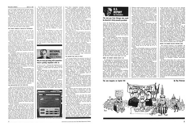 Article Preview: NATIONAL AFFAIRS, June 1964 | Maclean's