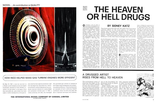Article Preview: THE HEAVEN OR HELL DRUGS, June 1964 | Maclean's