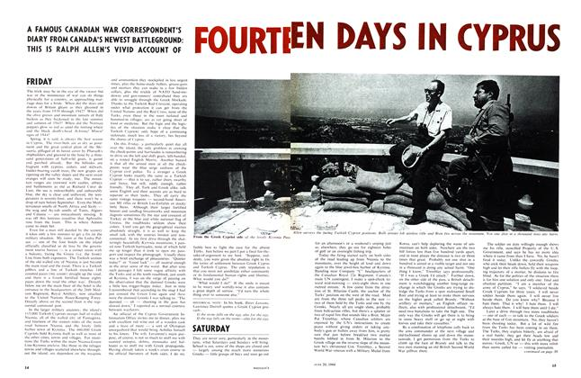 Article Preview: FOURTEEN DAYS IN CYPRUS, June 1964 | Maclean's