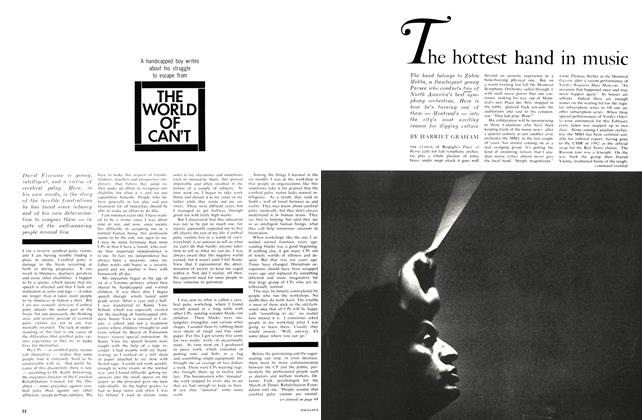Article Preview: The hottest hand in music, July 1964 | Maclean's