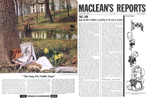 Article Preview: THE LAW, July 1964 | Maclean's